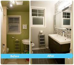 Bathroom Before And After Photos Small Bathroom Remodel Pictures Before And After Home Interior
