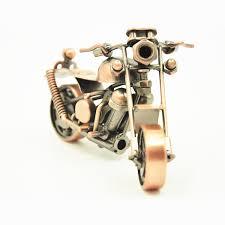 handmade iron motorcycle model metal motor ornaments