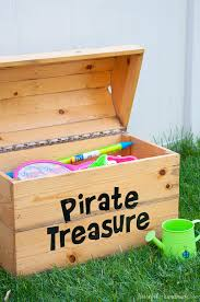 Free Plans To Build A Toy Box by Diy Treasure Chest Toy Box A Houseful Of Handmade