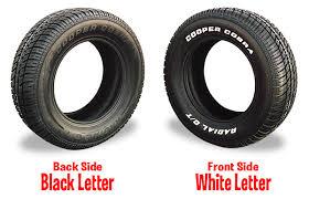 modern sized raised white letter tires nastyz28 com