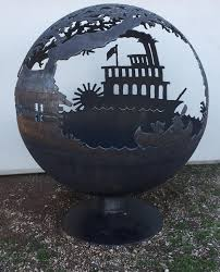 Fire Pit Globe by Tom U0027s Fire Pits Unique Hand Made Firepits And Water Pits Toms