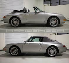 silver porsche convertible 1998 porsche 993 cabriolet arctic silver 24 983 miles sloan cars