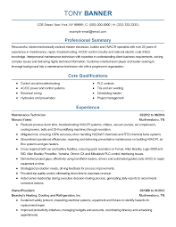 Sample Resume For Electrical Maintenance Technician by 100 Hvac Resume Format Aircraft Mechanic Resume Template Best