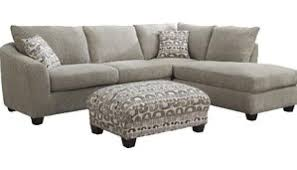 Curved Sofa Sectional Sofa Beige And Brown Leather Fabric Sectional Sofa With Chaise