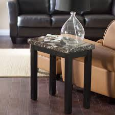 coffee table galassia faux marble end table hayneedle coffee set
