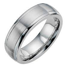 wedding band reviews ernest wedding band reviews new cobalt satin polished 7mm wedding