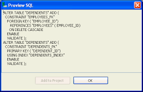 How To Delete A Table In Sql Using Oracle Developer Tools For Visual Studio
