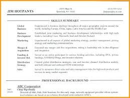 exles on how to write a resume resume skills section of a resume lovely exles in resumes