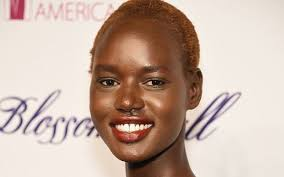 jobseeker in media for hairstyle beauty in south africa aussie model ajak deng quits fashion over fakes and lies of