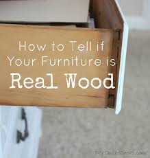 Can You Paint Particle Board Kitchen Cabinets by How To Tell If Wood Furniture Is Real Or Fake Erin Spain