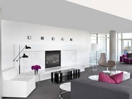Bedroom Grey Carpet White Walls Beige Throw Pillow Round Mirror White Feng Shui Fireplace Ledge