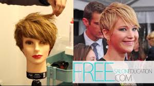 cut your own pixie haircut jennifer lawrence pixie haircut how to cut the jennifer lawrence