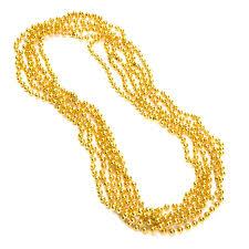 mardi gras beaded necklaces 33 mardi gras necklaces 7mm 12ct gold party