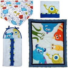 disney baby monsters 4 piece crib bedding toys