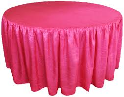 tablecloth for 72 round table 72 ruffle fitted taffetatable cover skirt sale