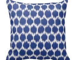 Patio Pillow Covers Outdoor Ikat Pillow Etsy