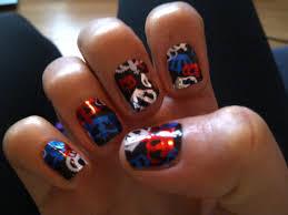 British Flag Nails Nail Art Kiss And Make Up Page 3