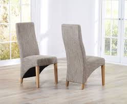 dining room chairs fabric dining chairs cool contemporary style x grey striped fabric