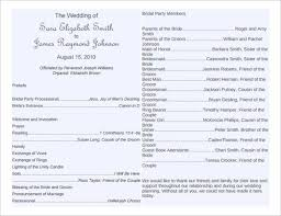 Print Your Own Wedding Programs Template Programs Wedding Program Templates Wedding Programs Fast