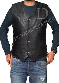 daryl dixon vest spirit halloween the walking dead daryl dixon angel wings faux leather vest jacket