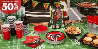 Nfl Curtains Nfl Atlanta Falcons Party Supplies Party City