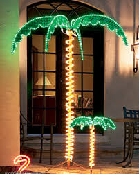 how many feet of christmas lights for 7 foot tree 7 ft palm tree led light