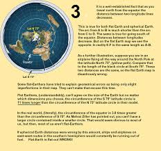 Flat Map Of World by Flat Earth Daily Debunk 3 The Fe Map Is Highly Distorted And