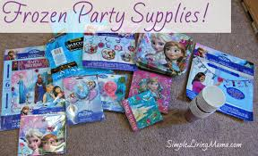 frozen party supplies planning a simple frozen birthday party simple living