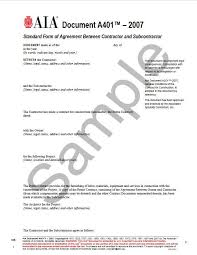 subcontractor agreement free subcontract agreement template