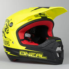 oneal motocross helmets o u0027neal 5 series california motocross helmet black neon yellow now