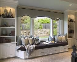 Window Seat Bookshelves Space Saving Window Seats In 15 Traditional Interiors Window