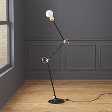 and gold exposed bulb lamp