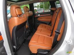orange jeep grand cherokee new saddle black interior 2012 jeep grand cherokee overland photo