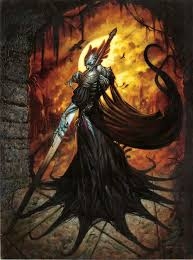 Mtg Invitational Cards Din Of The Fireherd Art By Dave Dorman Magic The Gathering