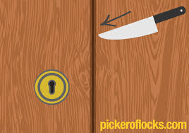 how to pick a lock with a knife picker of locks