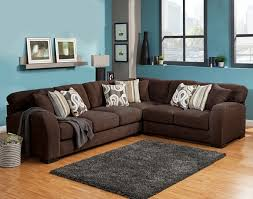 chocolate sectional sofa benchley wesley sect chocolate 3 pc wesley collection chocolate