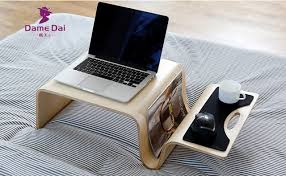 laptop computer end table mutifunctional modern bentwood table for breakfast magazine living