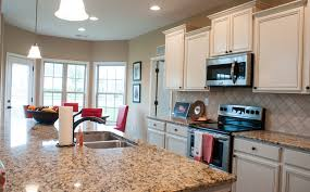 the kitchen of the mccormick ii floor plan by ball homes the