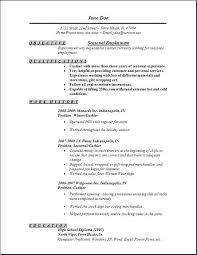 Objective Resume For Customer Service Sample Of A Resume For A Job Customer Service Objective Resume