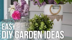 Craft Garden Ideas - garden diy ideas easy upcycled craft projects for outside