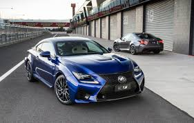 lexus two door coupes lexus rc f launches in australia new high performance v8 coupe