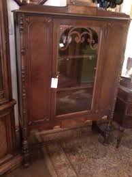 Cherry Wood Curio Cabinet Curio Cabinet Antique China Cabinets Displayo Jpg Outstanding
