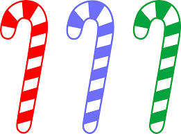christmas border writing paper candy cane border clip art cliparts co red blue and green candy canes free clip art