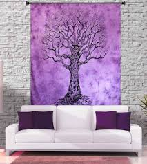 tapestry purple and black tree of life tapestry wall tapestry purple and black tree of life tapestry