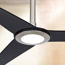 60 ozone led white ceiling fan 60 ozone led brushed nickel ceiling fan 8 extension ceiling