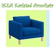 karlstad chair cover slipcovers ebay