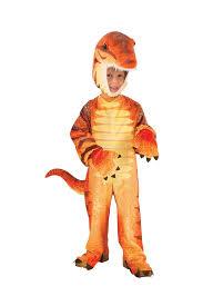 toddler dinosaur costume plush orange raptor dinosaur costume child toddler toynk toys