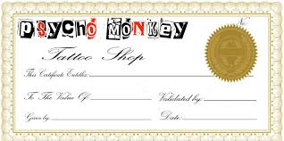 certificate word templates free ms tattoo clip art library