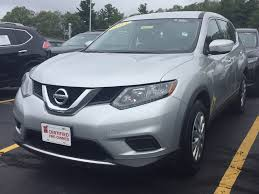 nissan rogue gas mileage 2015 used certified one owner 2015 nissan rogue s awd marlborough ma