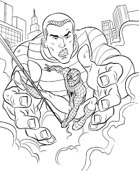 spiderman coloring books 3 print color free